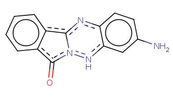 c1ccc2c(c1)c-3nc4ccc(cc4[nH]n3c2=O)N