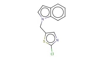 c1ccc2c(c1)ccn2Cc3cnc(s3)Cl