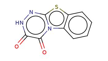 c1ccc2c(c1)n3c(=O)c(=O)[nH]nc3s2