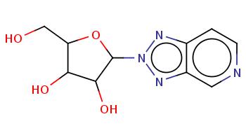 c1cncc2c1nn(n2)C3C(C(C(O3)CO)O)O