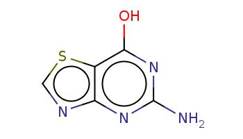 c1nc2c(s1)c(nc(n2)N)O